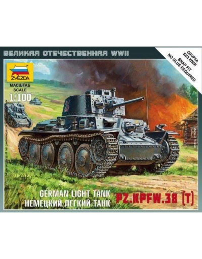 Zvezda ZVE6130 1/100 German 38T