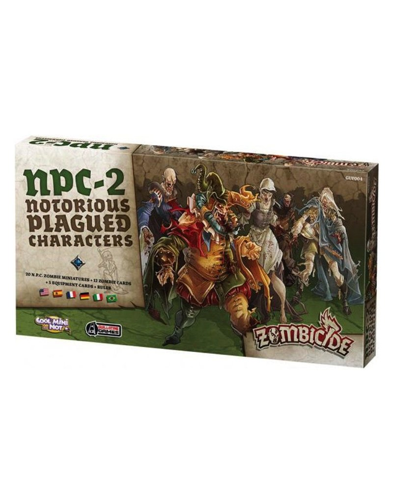CoolMiniOrNot Zombicide: NPC Box 2 (Notorious Plagued Characters)