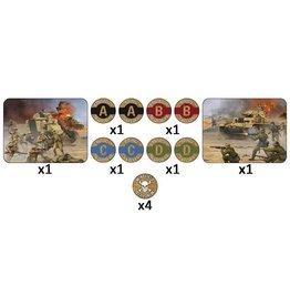 Flames of War TK101 Desert Mission Token Set