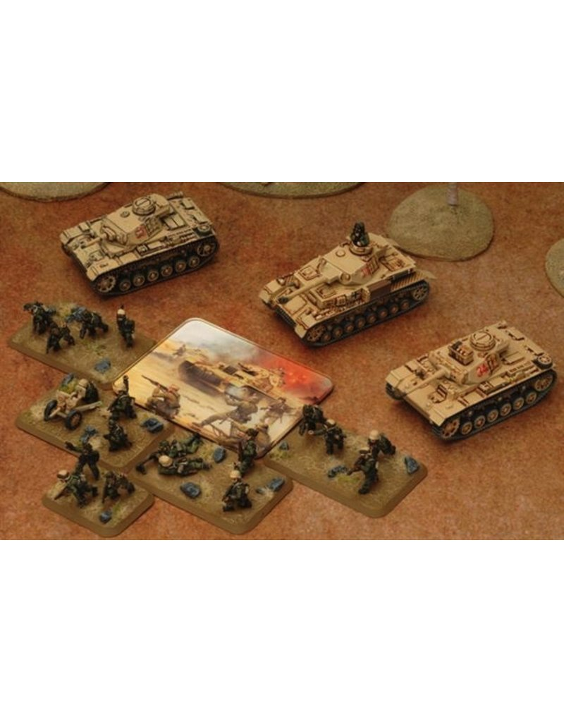 Flames of War TK101 Desert Mission Token Set