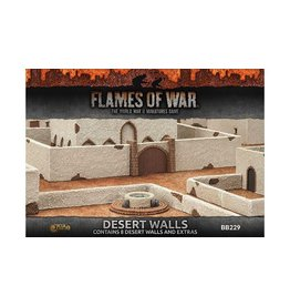 Flames of War BB225 Desert Walls