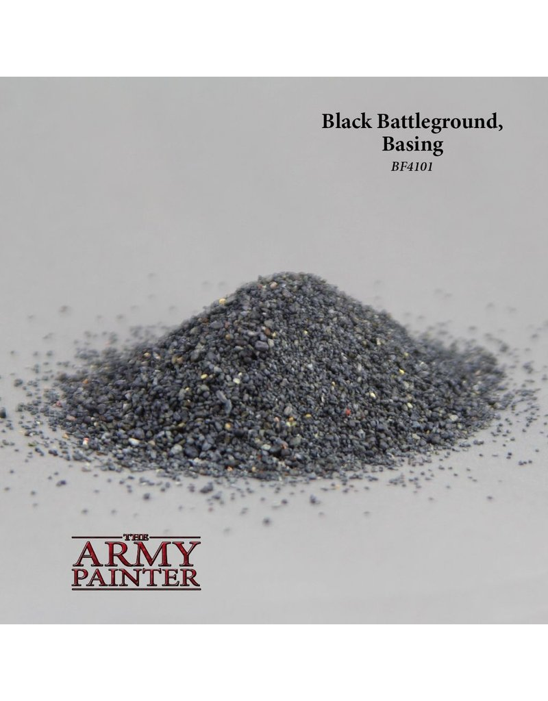 Army Painter BF4101 Battlefield Black Battleground
