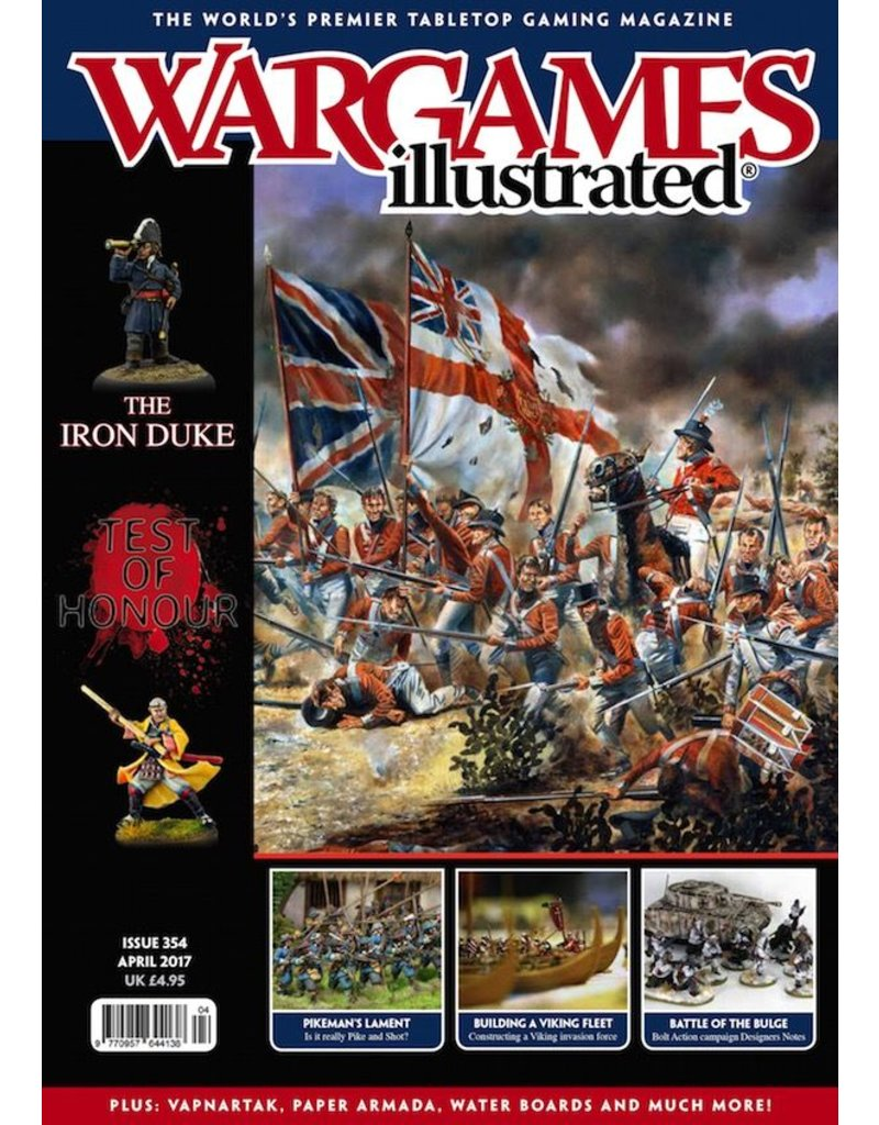 Wargames Illustrated Wargames Illustrated: Issue 354: April 2017