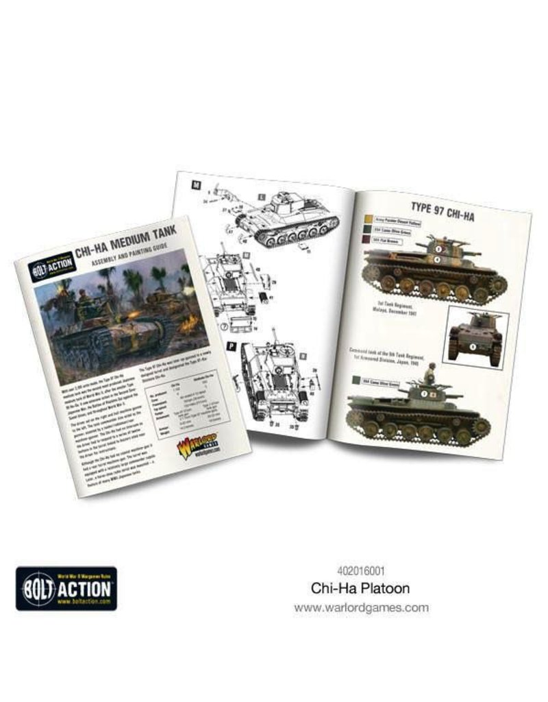 Bolt Action BA Japanese Army: Chi-Ha Platoon