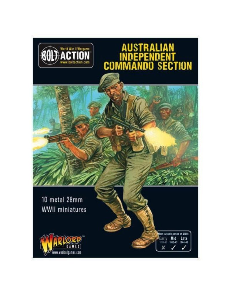 Bolt Action BA British Army: Australian Independent Commando Squad