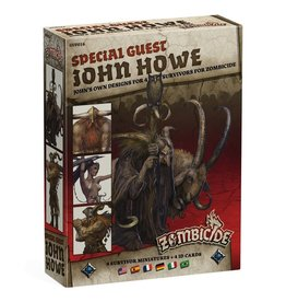 CoolMiniOrNot Zombicide: John Howe Special Guest Artist Survivor Miniatures