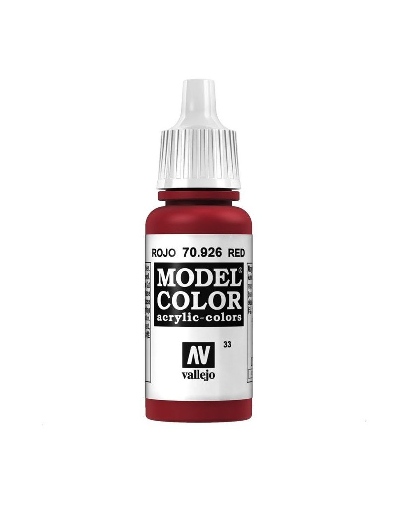 Vallejo VMC Red--17 ml. bottle
