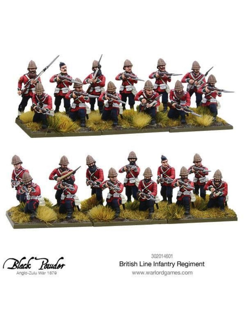 Warlord Games British Line Infantry Regiment