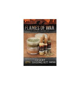 Flames of War DIRECT CWP103 Desert Basing Kit