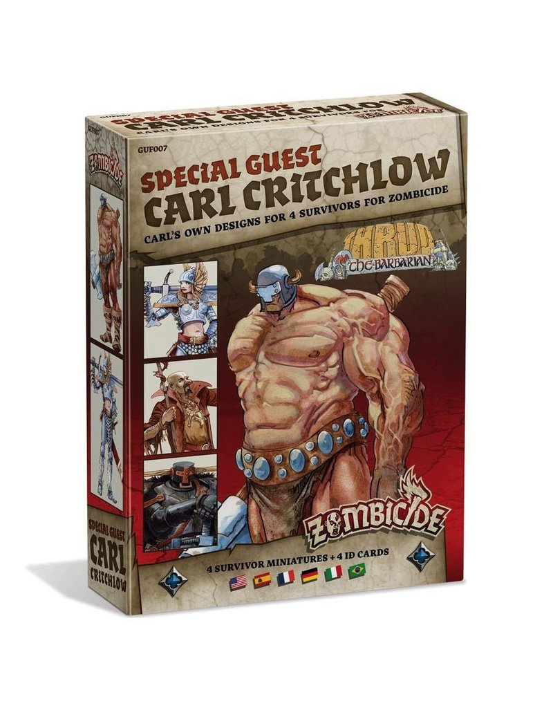 CoolMiniOrNot Zombicide: Carl Critchlow Special Guest Artist Survivor Miniatures