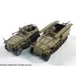 Rubicon Models DIRECT 28mm Rubicon Models: SdKfz 250-251 Expansion Set - SdKfz 250/11 & 251/7 sPzB 41 AT Rifle