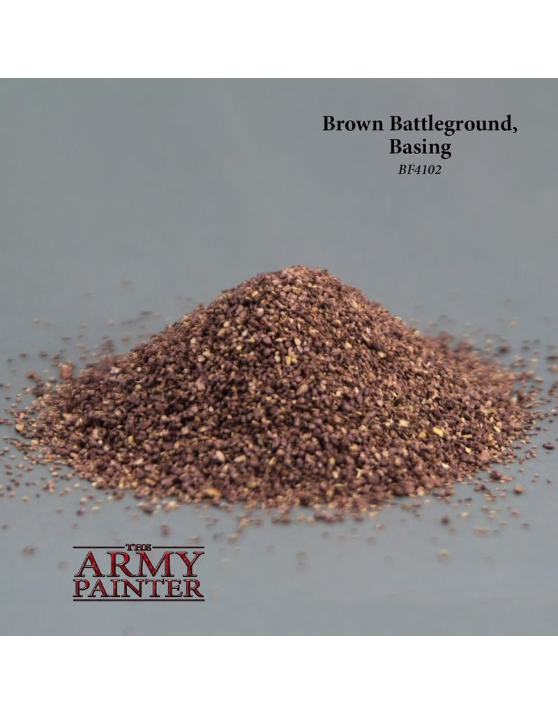 Army Painter BF4102 Army Painter Battlefield Basing Brown Battleground
