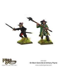 Warlord Games Sir Bevill Grenville & Anthony Payne