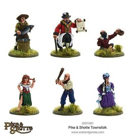 Warlord Games Pike & Shotte Townsfolk