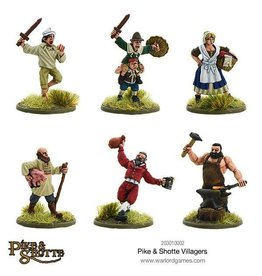 Warlord Games Pike & Shotte Villagers