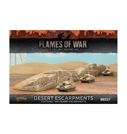 Flames of War BB217 Desert Escarpments
