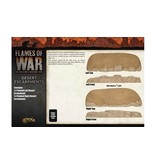 Flames of War BB217 Desert Escarpments
