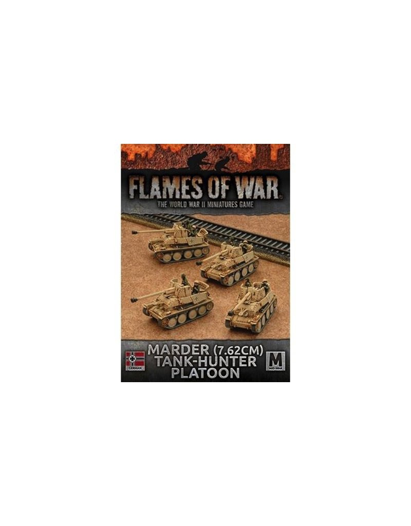 Flames of War GBX101 Marder (7.62cm) Tank Hunter Platoon