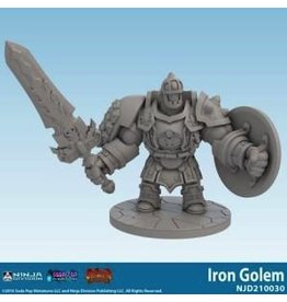 Soda Pop Miniatures Super Dungeon Explore: Iron Golem Expansion