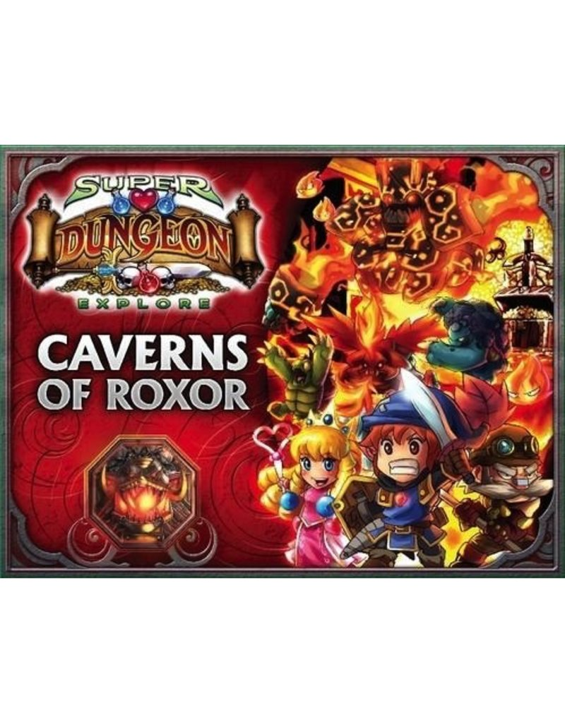 Soda Pop Miniatures Super Dungeon Explore: Caverns of Roxor (2nd Edition)