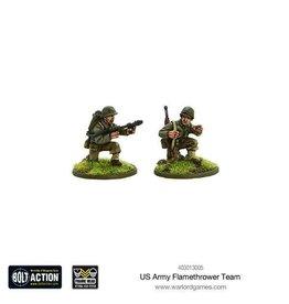 Bolt Action BA American Army: Flamethrower Team