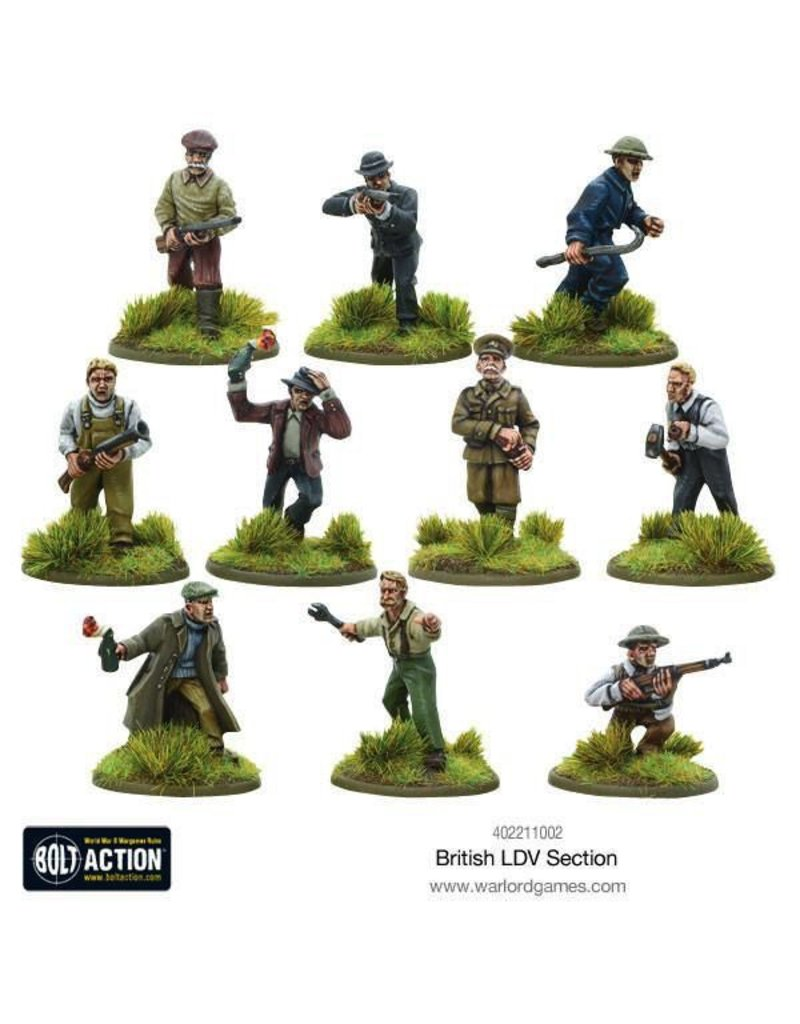 Bolt Action BA British Army: LDV Section