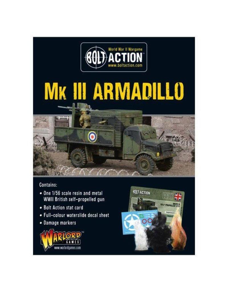 Bolt Action BA British Army: Mk III Armadillo