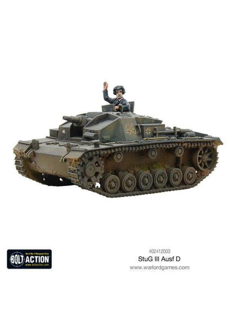 Bolt Action BA German Army: Stug III Ausf D