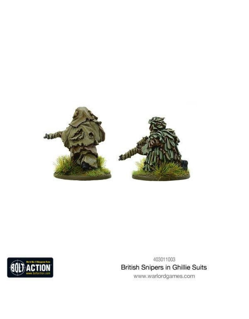 Bolt Action BA British Army: Snipers in Ghillie Suits