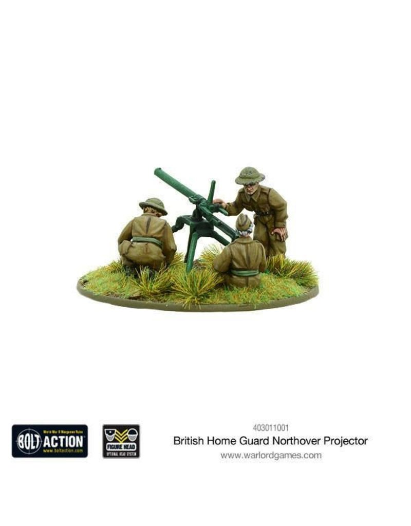 Bolt Action BA British Army: Northover Projector