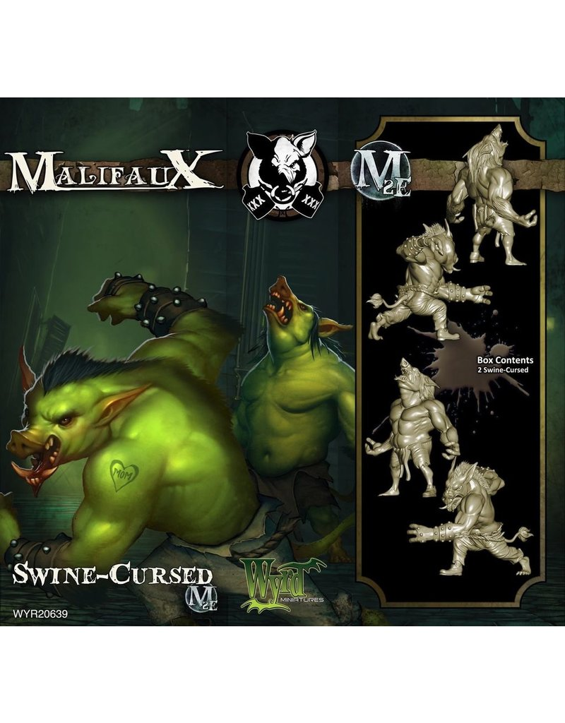 Wyrd miniatures WYR20639 Gremlins: Swine Cursed (2)