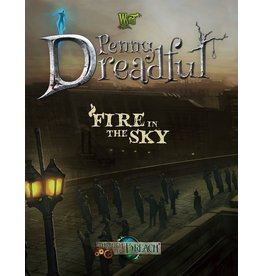 Wyrd miniatures WYR30206 Through the Breach RPG: Penny Dreadful - Fire in the Sky