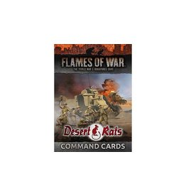 Flames of War FW241C Desert Rats Command Cards