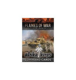 Flames of War FW242C Afrika Korps Command Cards