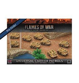 Flames of War BBX35 Universal Carrier Patrols (plastic)