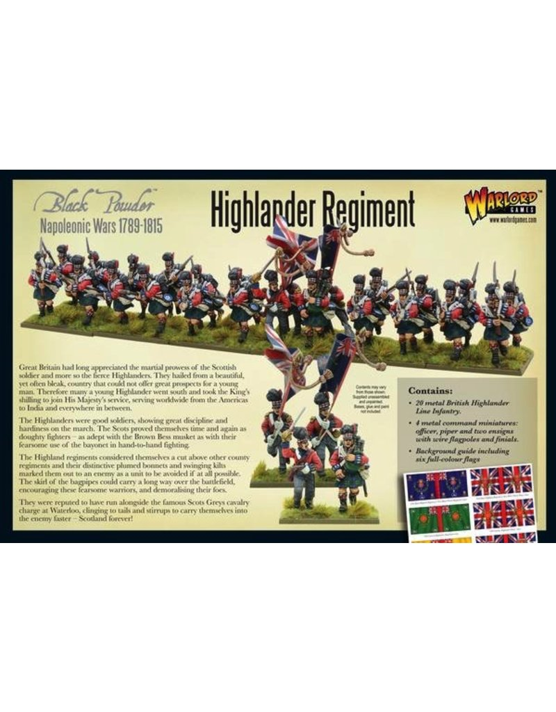Warlord Games Highlanders Regiment