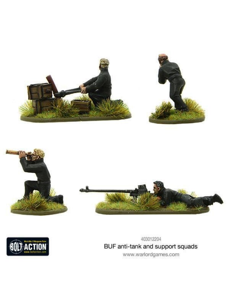 Bolt Action BA German Army: BUF Anti-Tank and Support Squads