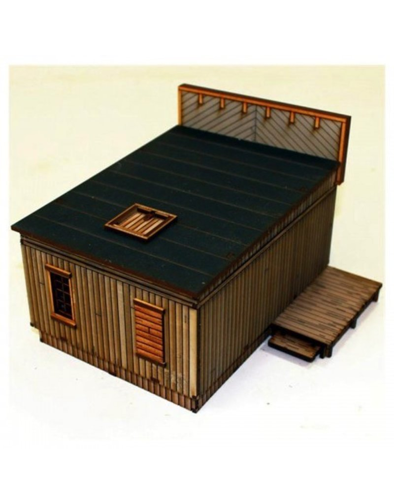 4Ground Miniatures DIRECT 28mm Dead Man's Hand: Side Street Building 3
