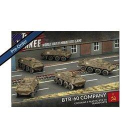 Team Yankee TSBX14 BTR-60 Transport Platoon (Plastic)