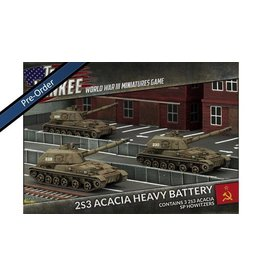 Team Yankee TSBX17 2S3 Acacia Heavy SP Howitzer Battery
