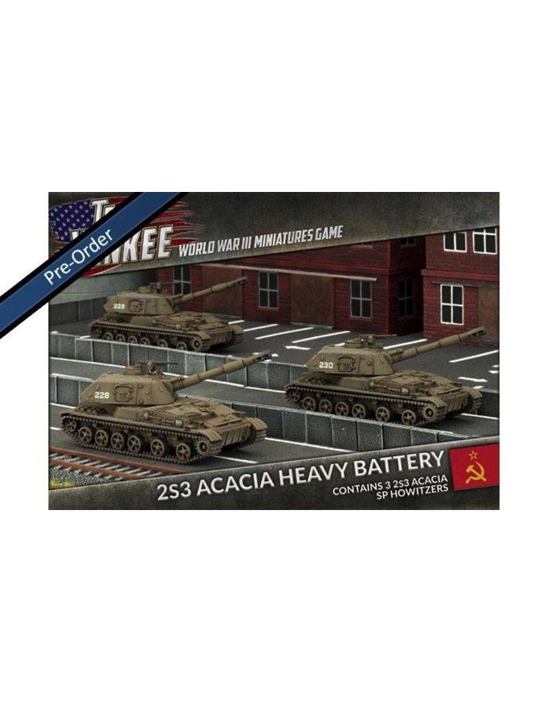 Team Yankee TSBX17 2S3 Acacia Heavy SP Howitzer Battery
