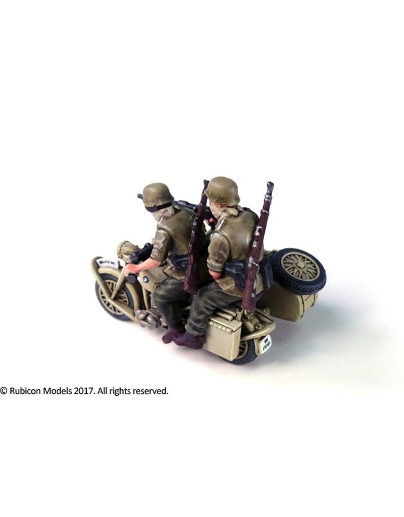 Rubicon Models DIRECT 28mm Rubicon Models: German Motorcycle R75 with Sidecar (DAK)