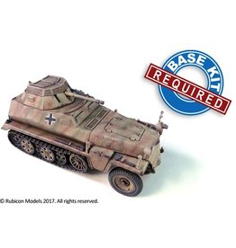 Rubicon Models DIRECT 28mm Rubicon Models: SdKfz 250/251 Expansion Set - SdKfz 250/9 & 251/23