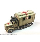 Rubicon Models DIRECT 28mm Rubicon Models: SdKfz 305/3a Expansion Set - Box Body (Einheitskoffer)