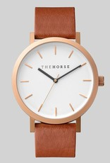 The Horse THE HORSE | WATCH | BRUSHED ROSE / WALNUT