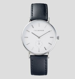 The Horse THE HORSE | WATCH | SILVER / BLACK LEATHER