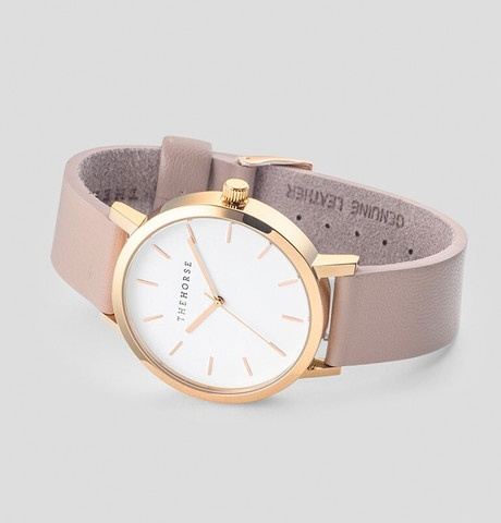 The Horse THE HORSE | WATCH | POLISHED ROSE GOLD / BLUSH