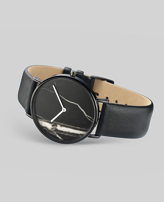 The Horse THE HORSE | WATCH | BLACK STONE / BLACK LEATHER