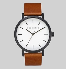 The Horse THE HORSE | WATCH | MATTE BLACK / WHITE FACE / TAN