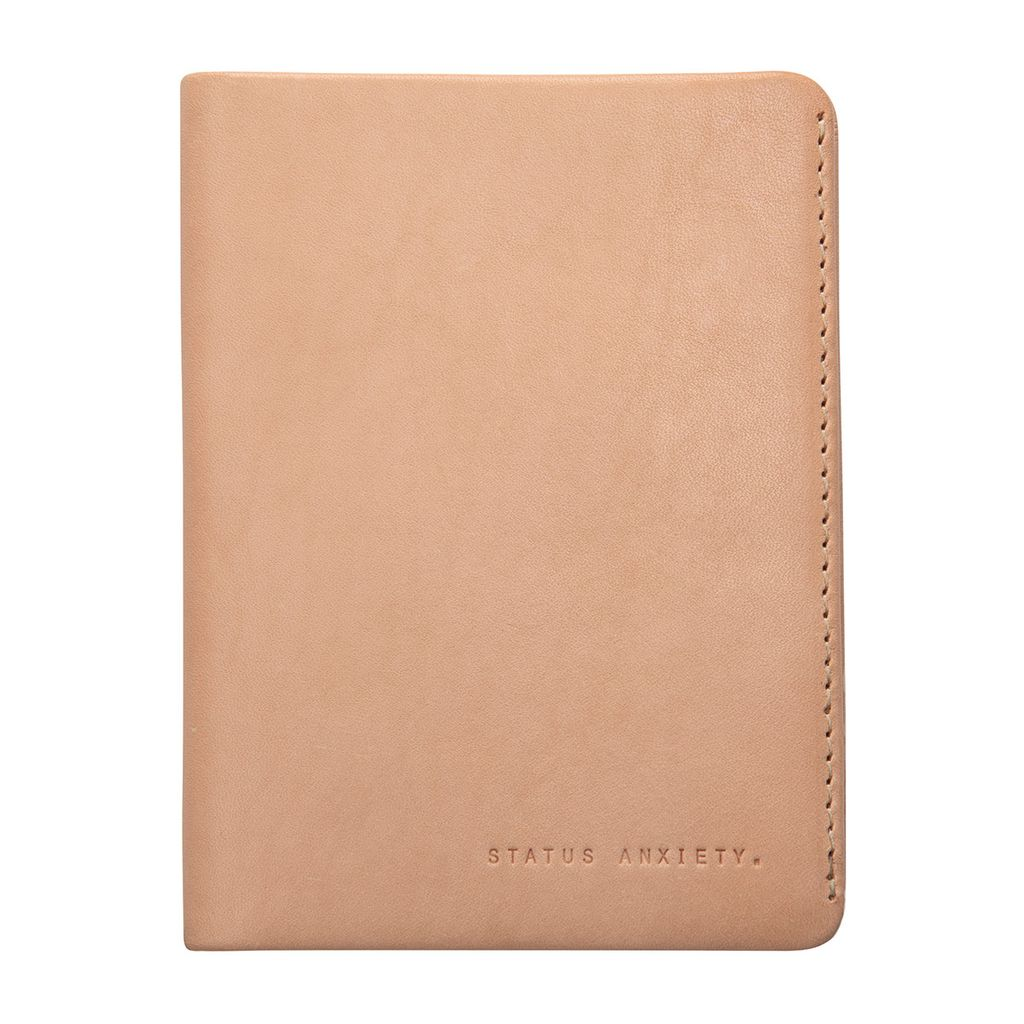 Status Anxiety STATUS ANXIETY | CONQUEST PASSPORT WALLET | TAN